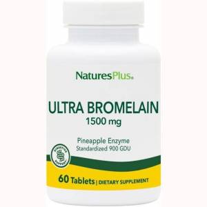 Nature's Plus Bromelain 1500 mg 60 Tabs Enzymes