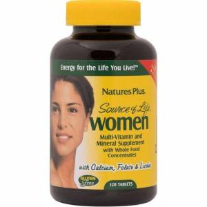 Natures Plus Source of Life Women Multi-Vitamin and Mineral 120 Tabs