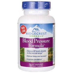 Ridgecrest Herbals Blood Pressure Formula 120 Veg Caps