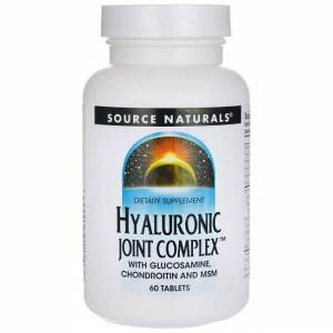 Source Naturals Hyaluronic Joint Complex 60 Tabs Joint Health