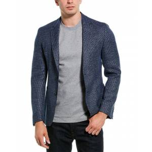 Boss Hugo Boss Nold2 Wool & Linen-Blend Sportcoat - Blue - Size: 44R