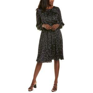 Donna Karan Blouson Dress - Black - Size: 8