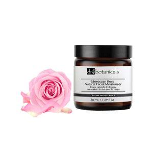Dr Botanicals 50ml DB Moroccan Rose Natural Facial Moisturizer