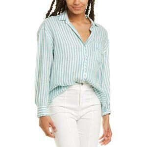 Max Mara Weekend Max Mara Uscita 2 Linen Shirt - Grey - Size: 6