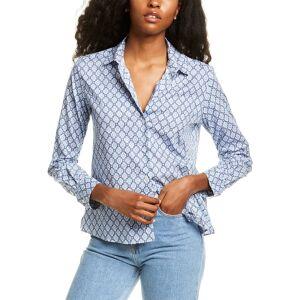 Weekend Max Mara Hidalgo Shirt - Blue - Size: 2