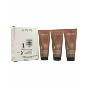 Redken 3pc 2oz Step 1 Smooth Activator for Dry/Unruly Hair