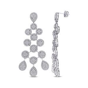 Diamond Select Cuts 14K 6.20 ct. tw. Diamond Chandelier Earrings