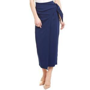 Donna Karan Classic Midi Skirt - Blue - Size: 12