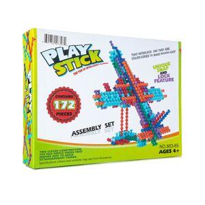 Yuka Super Toys 172pc Play-Stick Creative Block Set