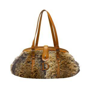 Christian Dior Limited Edition Runway D Shoulder Bag