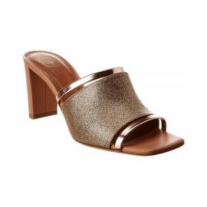 Malone Souliers Demi 70 Glitter & Leather Sandal