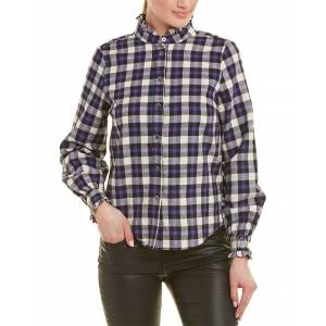 FRNCH Cathia Top - Purple - Size: s