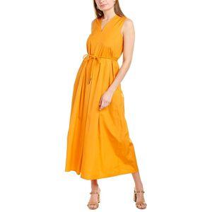 Max Mara Studio Bruna Shirtdress - Orange - Size: 10