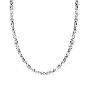 Diamond Select Cuts 14K 6.75 ct. tw. Diamond Tennis Necklace