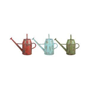 Esschert Design USA Set of 3 Vintage Watering Can 8.5L