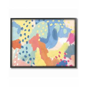 """Stupell Bright Life Abstract Colors by Mary Urban Framed Art - Size: 11"""" x 2"""" x 14"""""""
