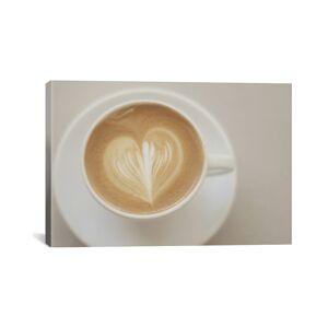 iCanvas A Latte Love by Chelsea Victoria - Size: 18x12