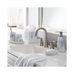 Moda at Home Marika Bath Coutertop 6pc Set - Grey