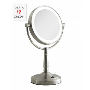 Zadro Cordless Dual-Sided LED Lighted Mirror with $7 Credit