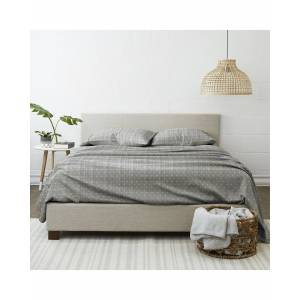 Home Collection Premium Ultra Soft Polka Dot Pattern 4pc Bed Sheet Set - Size: Queen
