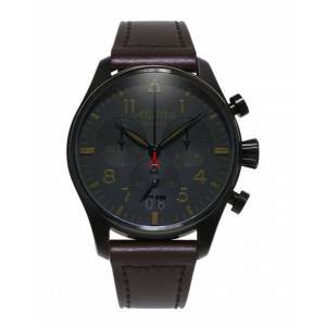 Alpina Men's Leather Watch