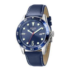 Ferre Milano Men's Calfskin Leather Watch