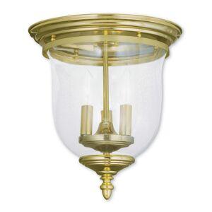 Livex Lighting Livex Legacy 3-Light Polished Brass Ceiling Mount