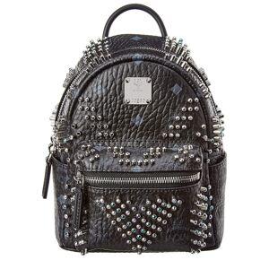 MCM Stark Bebe Boo Mini Backpack - Black
