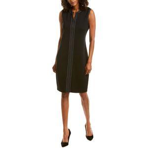 St. John Wool-Blend Shift Dress - Size: 00