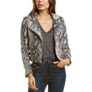 IRO Ashville Leather Moto Jacket - Size: 34