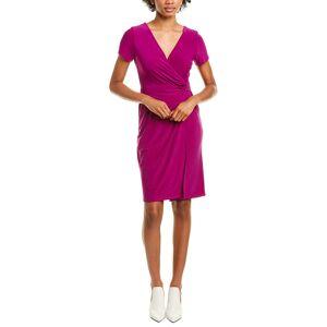 Marina Twisted Faux Wrap Dress - Size: S