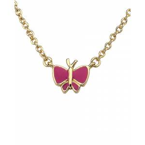 Little Miss Twin Stars 14K Plated Charming Treats Necklace - Size: os