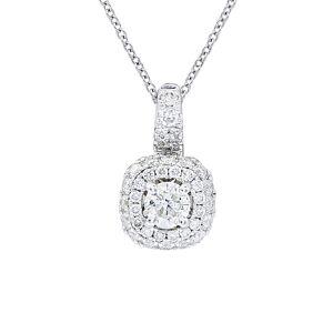 Diana M. Fine Jewelry 14K 0.50 ct. tw. Diamond Necklace