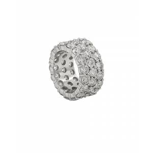 Diana M. Fine Jewelry 18K 10.60 ct. tw. Diamond Ring - Size: 6