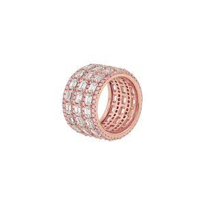 Diana M. Fine Jewelry 18K Rose Gold 11.23 ct. tw. Diamond Ring - Size: 6