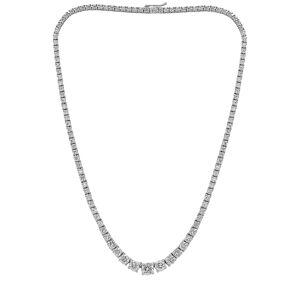 Diana M. Fine Jewelry 18K 14.00 ct. tw. Diamond Necklace