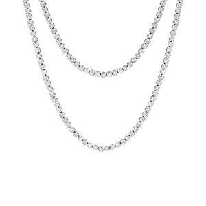 Diana M. Fine Jewelry 18K 16.80 ct. tw. Diamond 34in Necklace