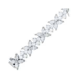 Diana M. Fine Jewelry Platinum 16.50 ct. tw. Diamond Bracelet