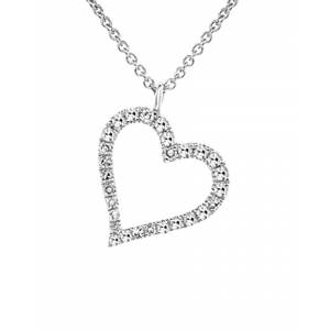 Diana M. Fine Jewelry 14K 0.10 ct. tw. Diamond Necklace