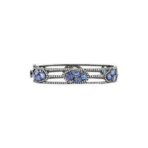 Diana M. Fine Jewelry 18K 13.70 ct. tw. Diamond & Tanzanite Bracelet