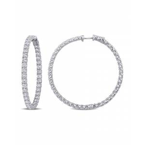 Rina Limor 14K 7.25 ct. tw. Diamond Hoops