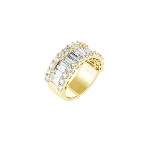 Diamond Select Cuts Diana M. Fine Jewelry 18K 3.50 ct. tw. Diamond Ring - Size: 6
