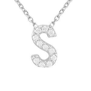Gabi Rielle Silver CZ Necklace - Size: m