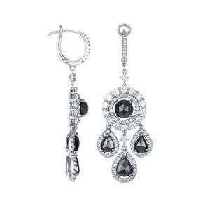 Diana M. Fine Jewelry 18K 7.20 ct. tw. Diamond Earrings