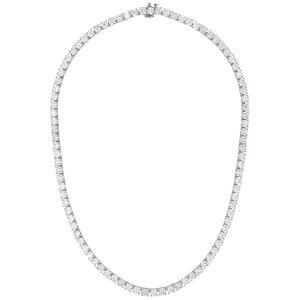 Diana M. Fine Jewelry 18K 10.71 ct. tw. Diamond Tennis Necklace