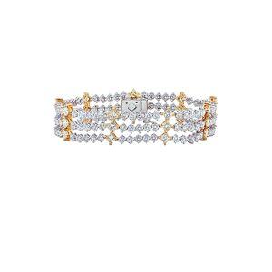 Diana M. Fine Jewelry 18K 13.50 ct. tw. Diamond Bracelet