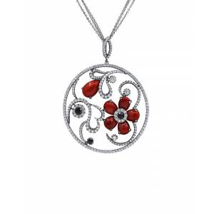 Diana M. Fine Jewelry 18K 9.50 ct. tw. Diamond Pendant Necklace
