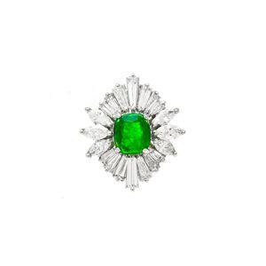 Diana M. Fine Jewelry Platinum 6.50 ct. tw. Diamond Ring