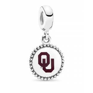 Pandora Silver University of Oklahoma Dangle Charm
