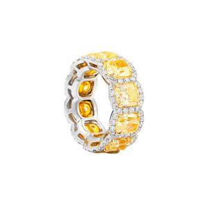 Diana M. Fine Jewelry 18K 12.59 ct. tw. Diamond Ring - Size: 6
